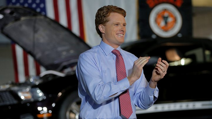 Democratic congressman Joseph Kennedy III said he was speaking for all Americans