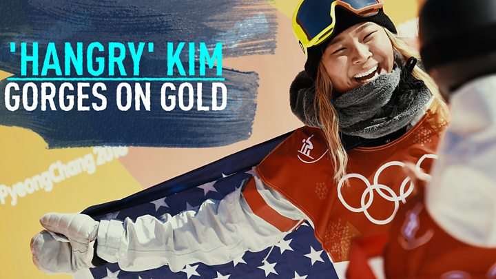 Chloe Kim gives Order of Ikkos medal to teammate Kelly Clark