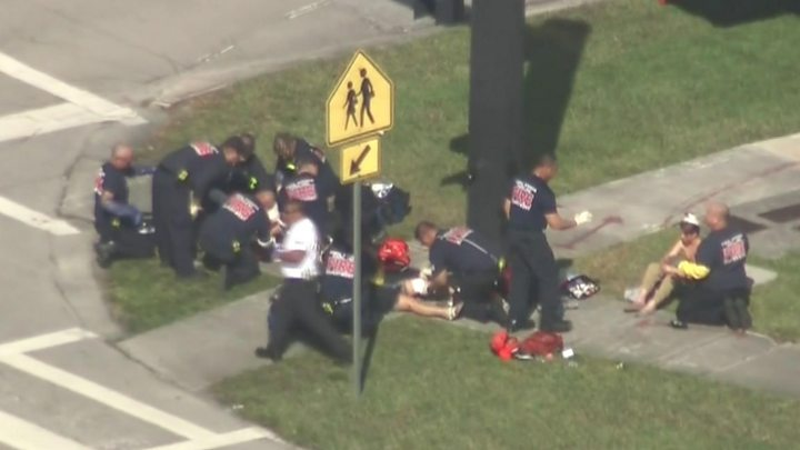 Image result for Parkland Shooting: At least 17 dead in high school attack