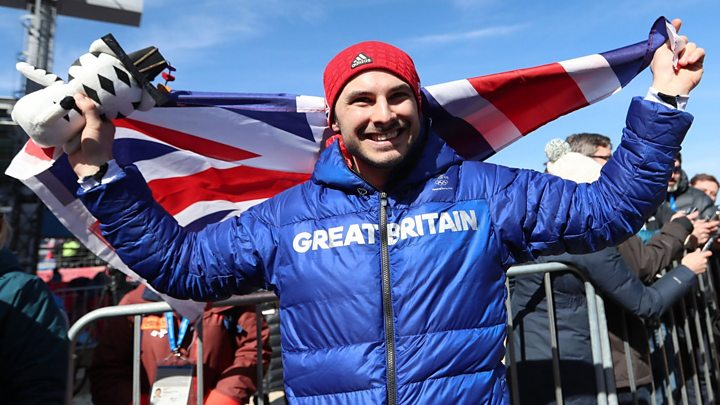 Great Britain's Dom Parsons claims bronze in men's skeleton in PyeongChang