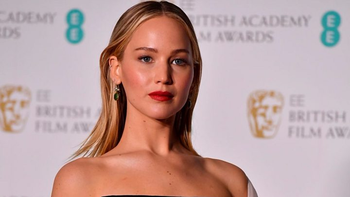 3e1cc991d0a9 Jennifer Lawrence swaps acting for activism - BBC News