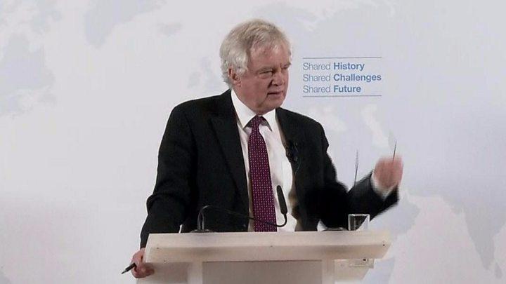 Post-Brexit UK won't be like Mad Max, says David Davis