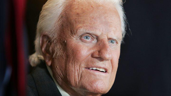 billy graham influential us evangelist dies at 99 bbc news