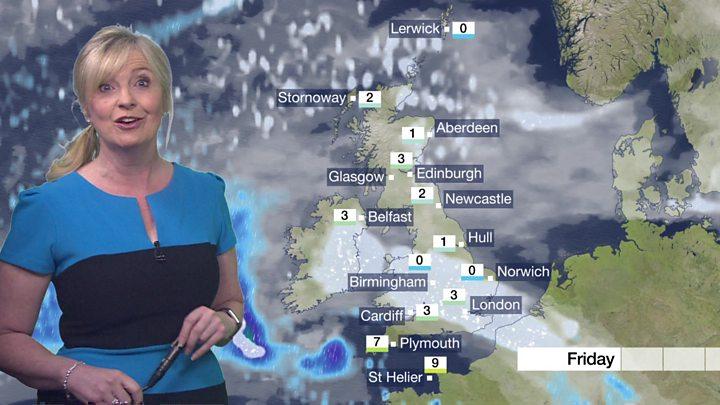 Tuesday Weather Map.Uk Weather Snow Falling As Siberian Blast Hits Uk Bbc News