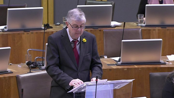 Scottish government publishes alternative Brexit bill