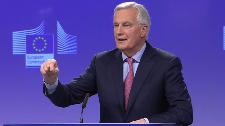 Michel Barnier: I'm not trying to provoke anyone