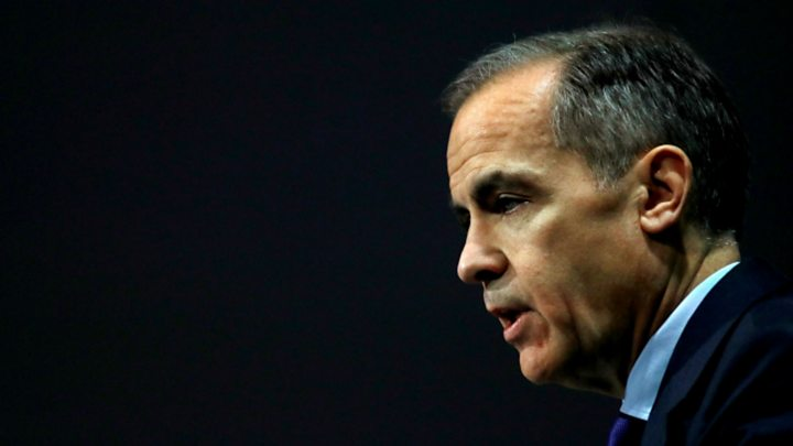 Bank of England chief Mark Carney says cryptocurrencies are failing as money