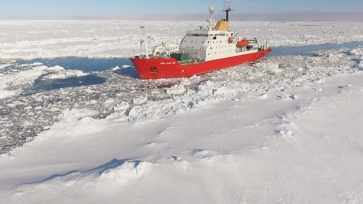 Antarctic Sea Ice Hits Second Lowest Point on Record