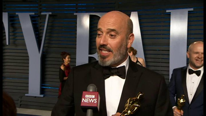 Upstate NY native Mark Bridges wins an Oscar...and a jet ski