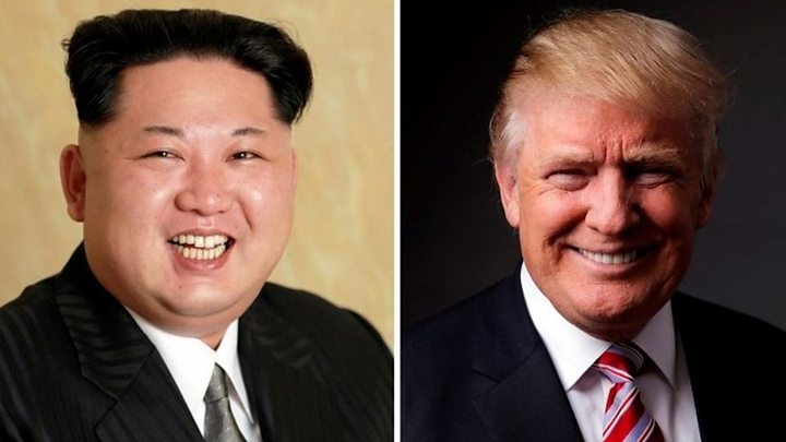 Media playback is unsupported on your device                  Media caption Kim Jong-un and Donald Trump From enemies to frenemies