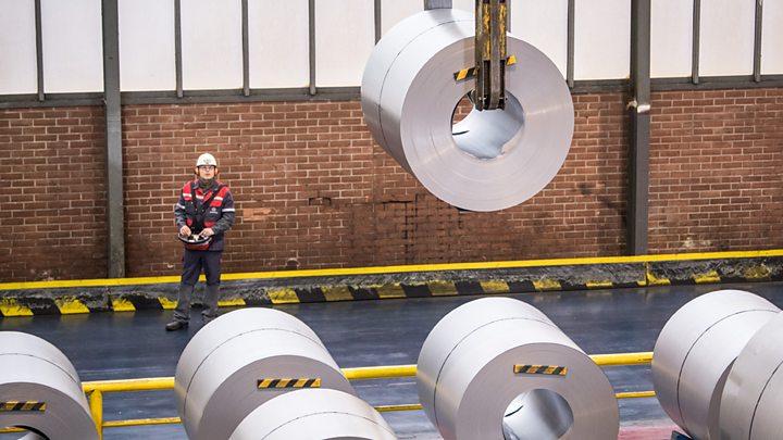 Uk To Seek Exemption From Us Steel Tariffs Bbc News