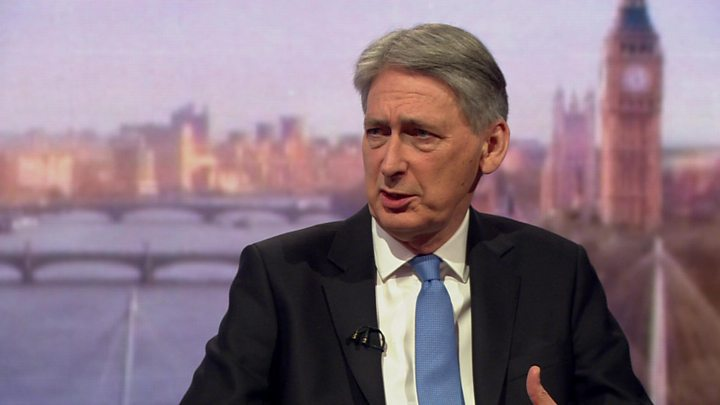We're not out of austerity tunnel yet - Chancellor Philip Hammond