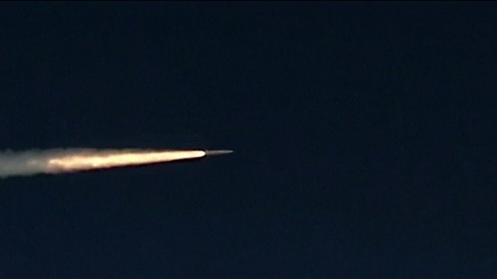 Russian military tests nuclear-capable hypersonic missile