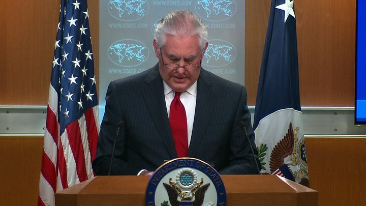 State Dept.: Tillerson to Talk Soon With Successor Nominee Pompeo