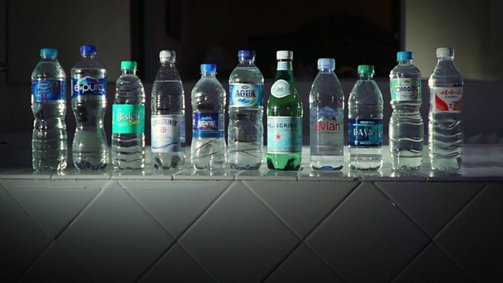 Plastic Particles Found In Bottled Water Bbc News