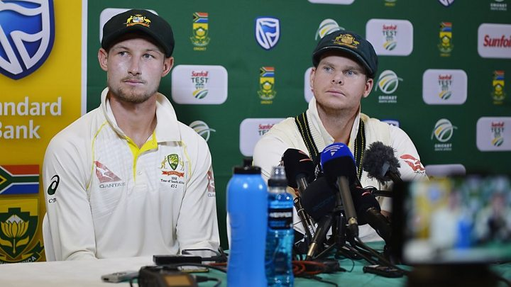Media playback is unsupported on your device                  WATCH Australian cricket team admit cheating over the weekend