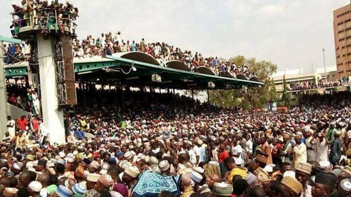 'Na ga Shehu Ibrahim Nyass da idona a Abuja'