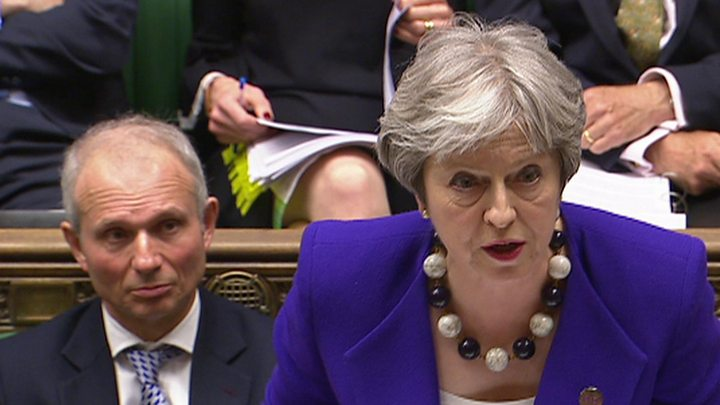 UK PM May: Failure to Back Her Brexit Plan Would Be 'Catastrophic'