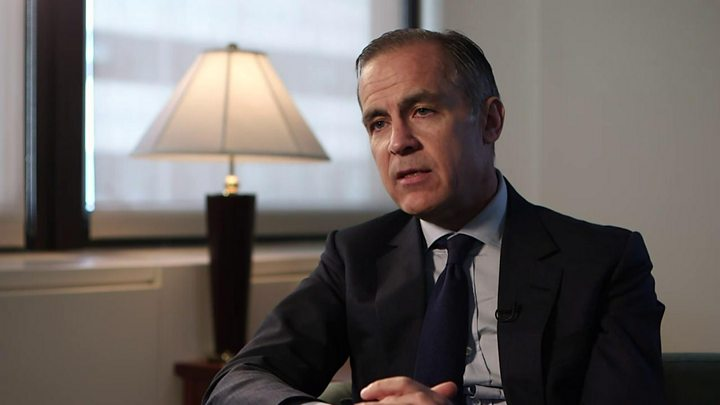 Mark Carney - May rate rise less likely