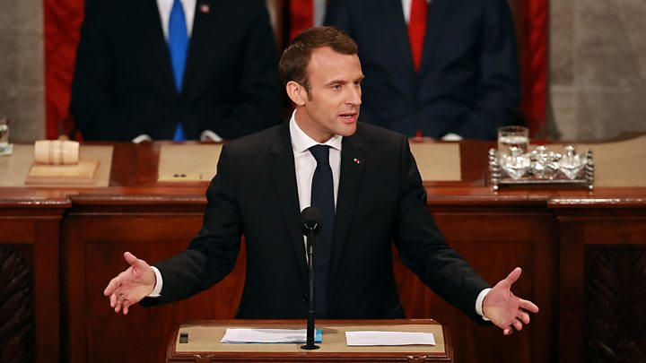 Macron: 'There is no Planet B'