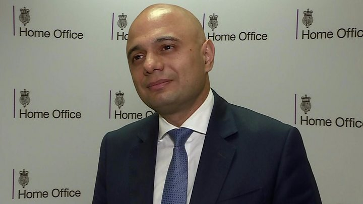 United Kingdom  gets new home secy