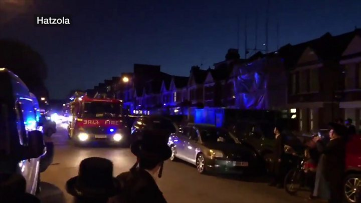 Some 30 Reported Injured in Lag Ba'omer Explosion in London