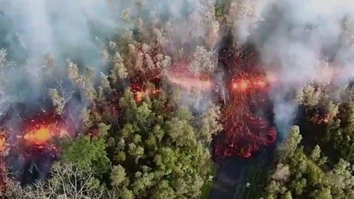 El Kilauea hace erupción; evacuan a 10 mil personas