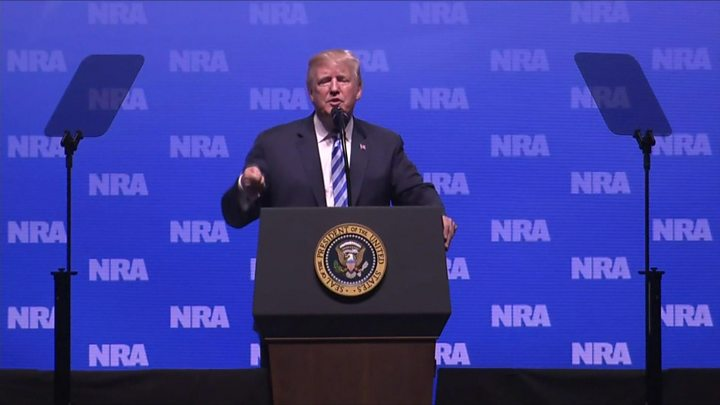 Gobsmacked Londoners bash Trump after he complains about United Kingdom  violence to NRA