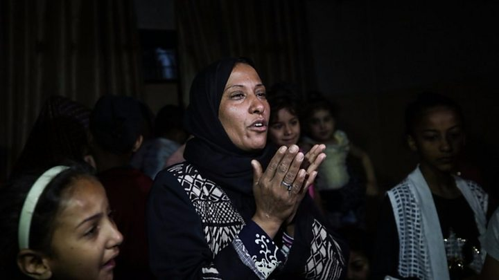Gaza: The bullets stop, the burials go on