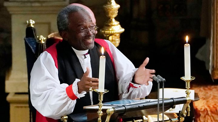 Image result for Most Rev Michael Curry royal wedding