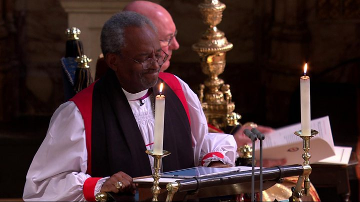 Black Preacher At Royal Wedding.Bishop Michael Curry The Full Sermon