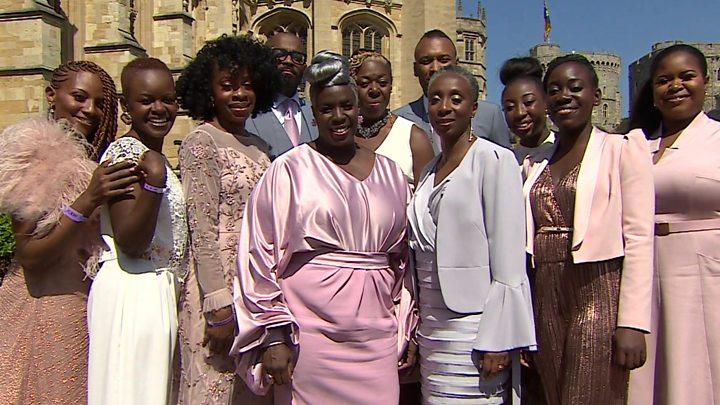 Gospel Choir At Royal Wedding.Black Culture At The Royal Wedding