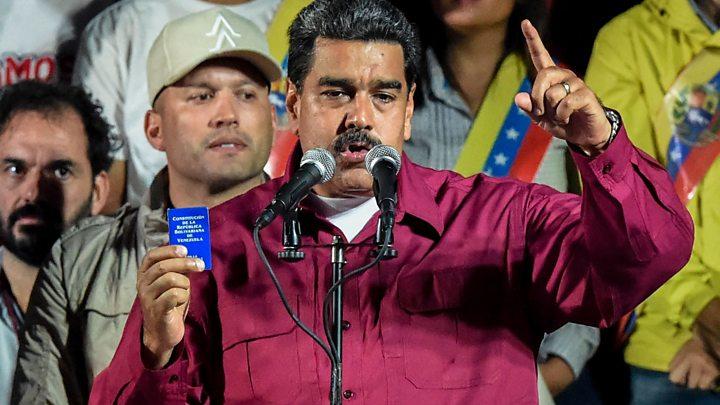 Resultado de imagen para maduro gana elecciones de venezuela