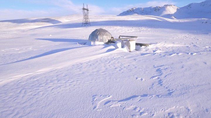 """El revolucionario experimento de Islandia que """"digiere"""" emisiones de carbono para convertirlas en rocas... para siempre"""