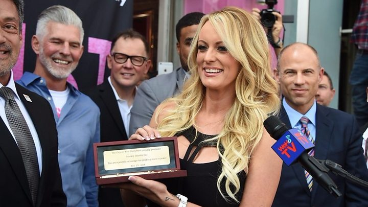 innovative design 2fb1d d614e Stormy Daniels given key to the city of West Hollywood