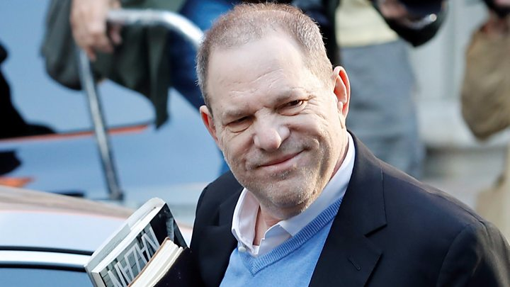 Harvey Weinstein charged with rape in New York