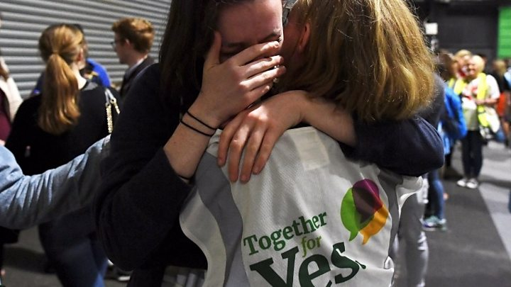 Vote points to abortion being legalized in Ireland