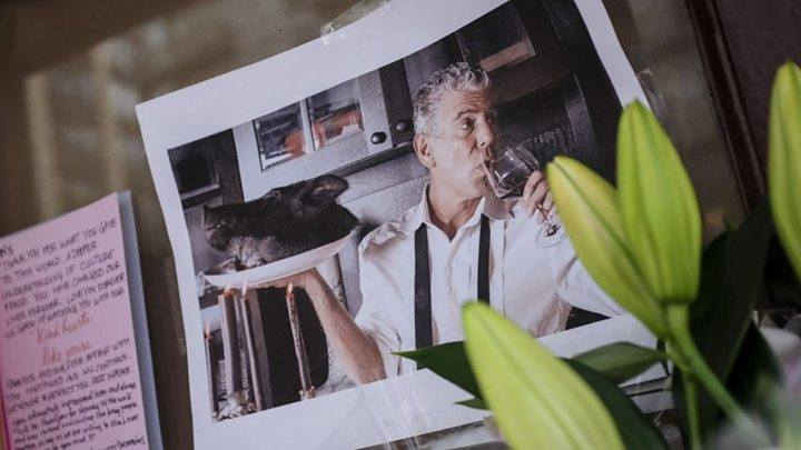Anthony Bourdain: Chef's mother plans memorial tattoo
