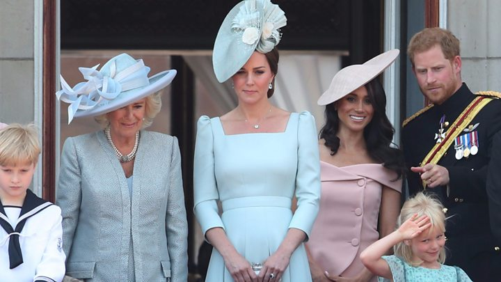 Trooping the Colour: Royals join Queen at birthday parade