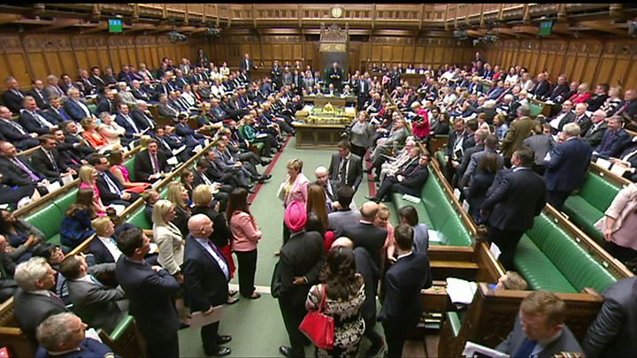 Moment SNP MPs Storm Out Of PMQs After Row With The Speaker