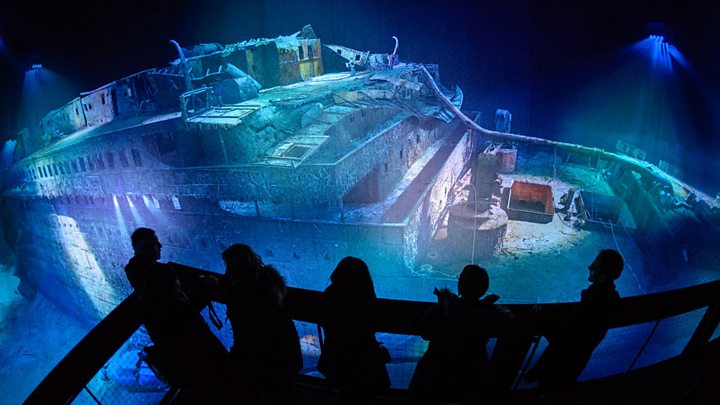 Titanic search was US 'front for Cold War mission'
