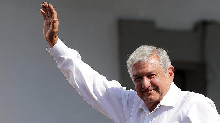 Image result for Mexico election: López Obrador vows profound change after win