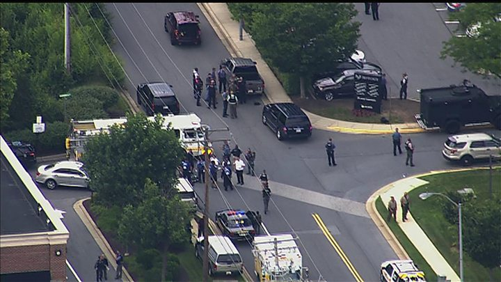 Image result for 'Several' People Dead After Shooting at 'Capital Gazette' Newsroom in Annapolis, Maryland