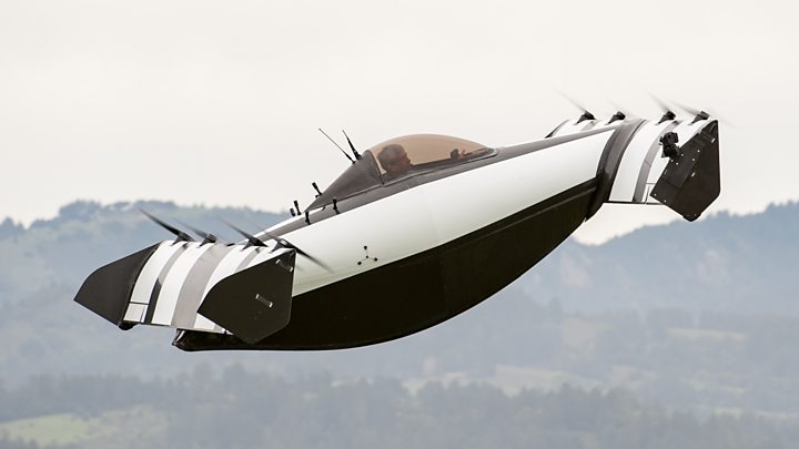 Google cofounder Larry Page backs BlackFly flying auto