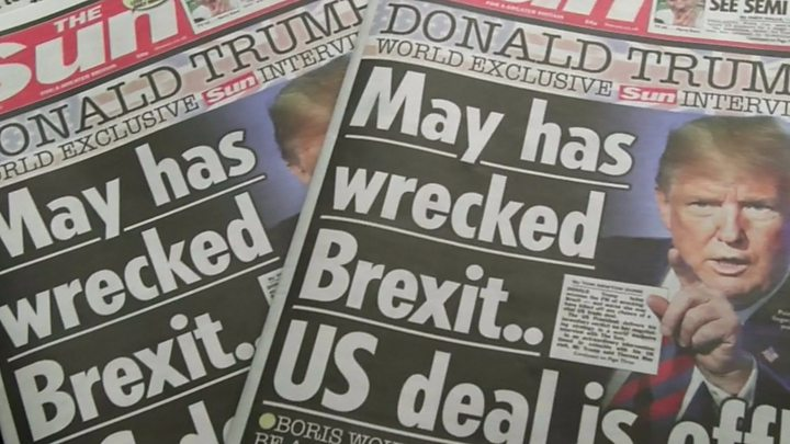 Tom Newton Dunn,The Sun's political editor: 'It's probably the last thing (Theresa May) needed'