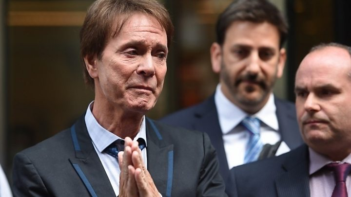 Sir Cliff Richard wins privacy case against BBC