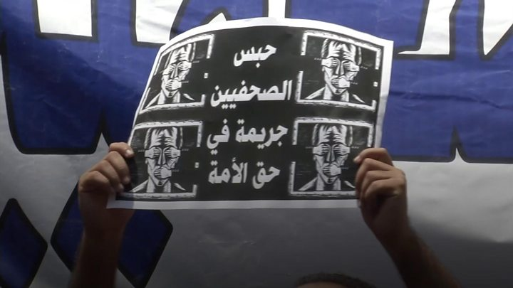 Egypt police raid news outlet after journalist arrest