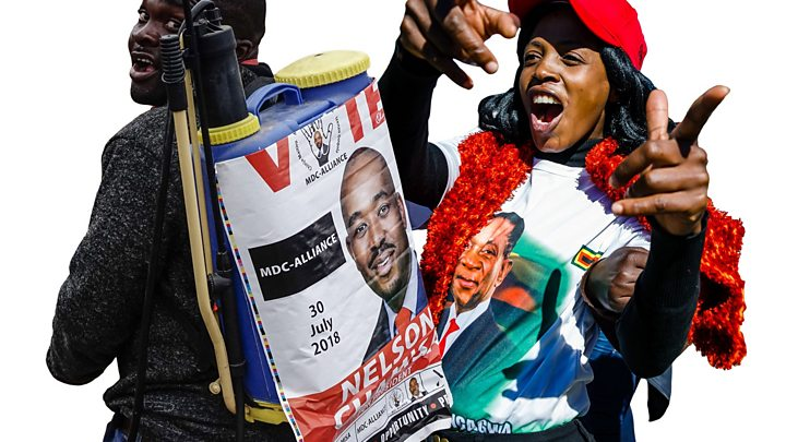 zimbabwe election high turnout in first post mugabe poll bbc news