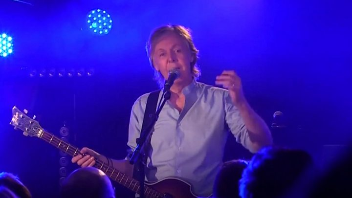 Sir Paul McCartney Rolls Back The Years In Cavern Comeback But No Phones Please