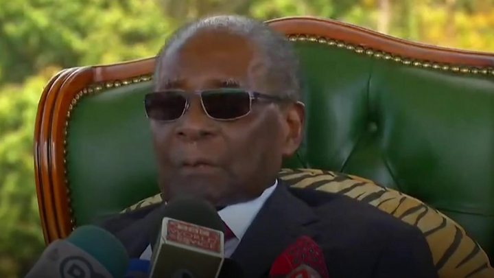 Mugabe: 'I can't vote for Zanu-PF' in Zimbabwe election